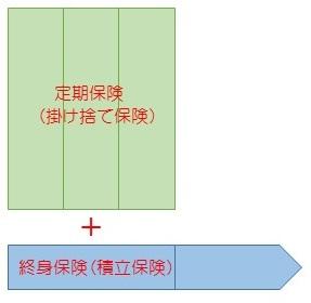 HP用終身+定期保険2